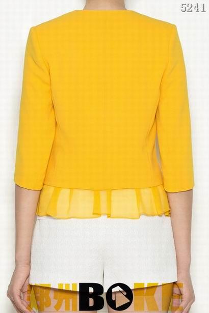 专业服装设计网 纸样图库 女衬衣针织 无领衬衣5241